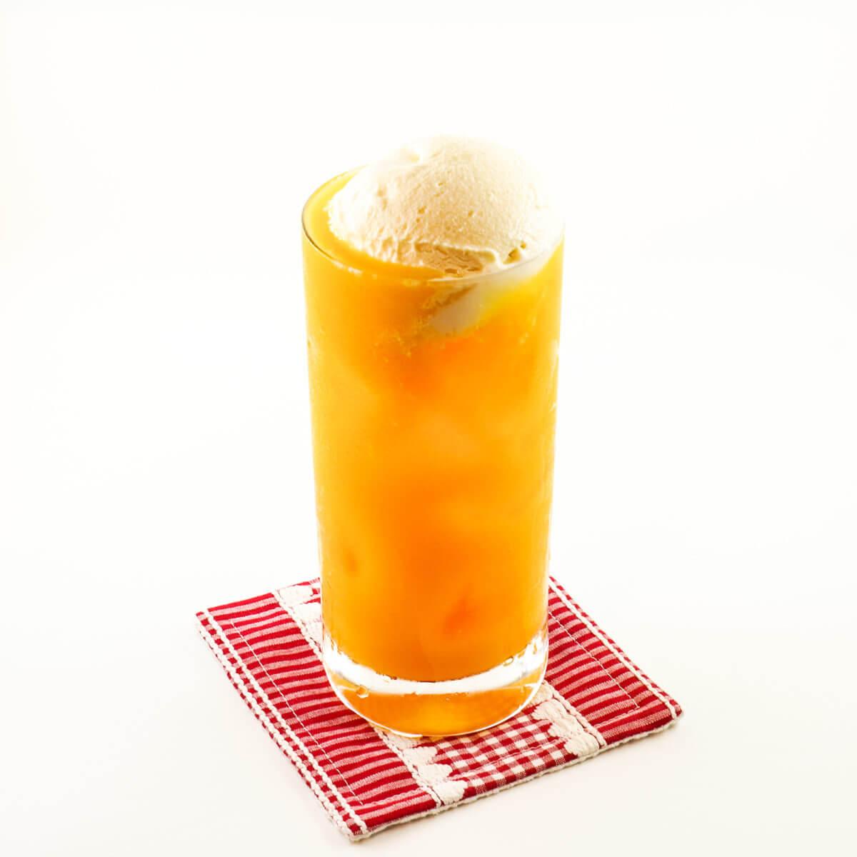 シトラスジュース フロート