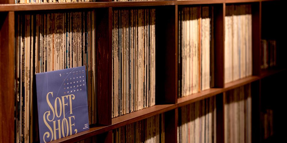 数々のレコードコレクション
