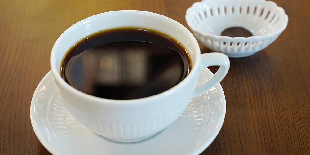 薫り高いコーヒー