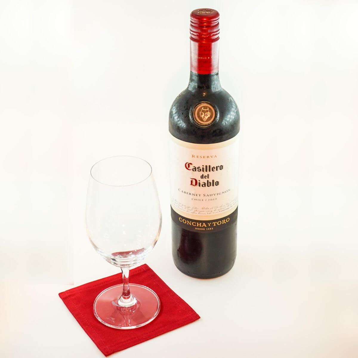 悪魔の蔵のワイン 赤